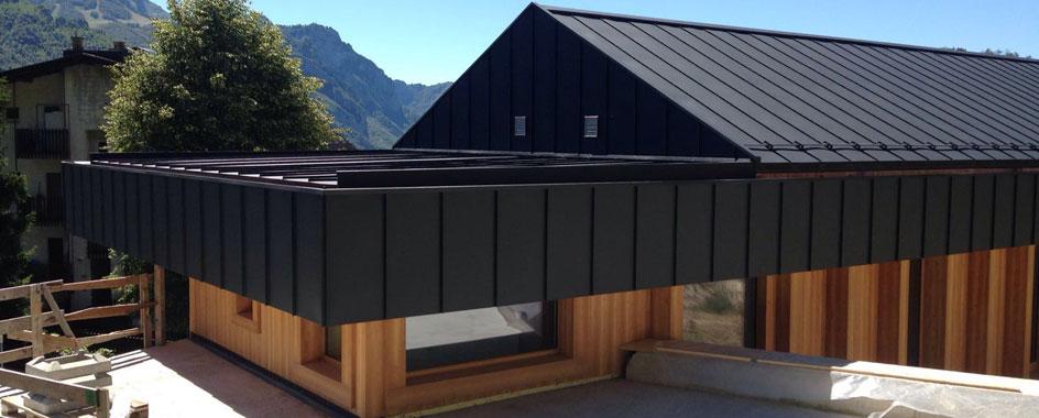 Dachsysteme : Doppelstehfalz