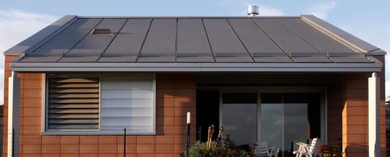 Metall dachrinnen